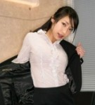 Oda arisa  oda arisa posing in dark suit her amazing breasts. Oda Arisa posing in dark suit her amazing breasts