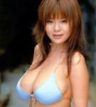 Yoko matsugane  japanese famous idol yoko matsugane posing in blue color outfits. Japanese famous idol Yoko Matsugane posing in blue color outfits