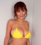 Yoko matsugane  delicate yoko matsugane in yellow bikini  one of the best large breasts ever. Graceful Yoko Matsugane in yellow bikini. One of the best large boobs ever!