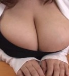 Hana uehara posing her monster natural tits  after she gives