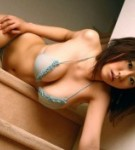 Hitomi kitamura posing in small bikini.