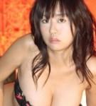 Voluminous boobs kitamura hitomi lustful looks in black lingerie.