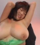 Rin aoki japanese porn star titty fucks two guys.