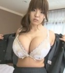 Curvy asian porn star hitomi tanaka gives a heavy natural titty fuck to a lucky guy.